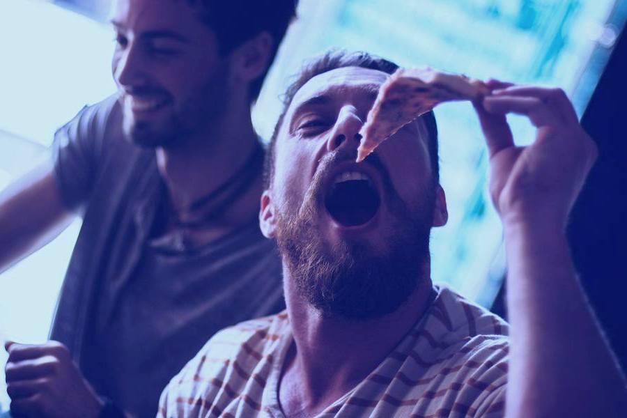борода и еда