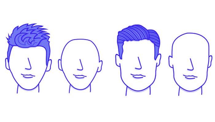 форма головы и прически, стрижки