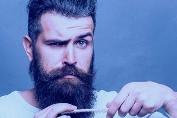 густой борода, борода рост
