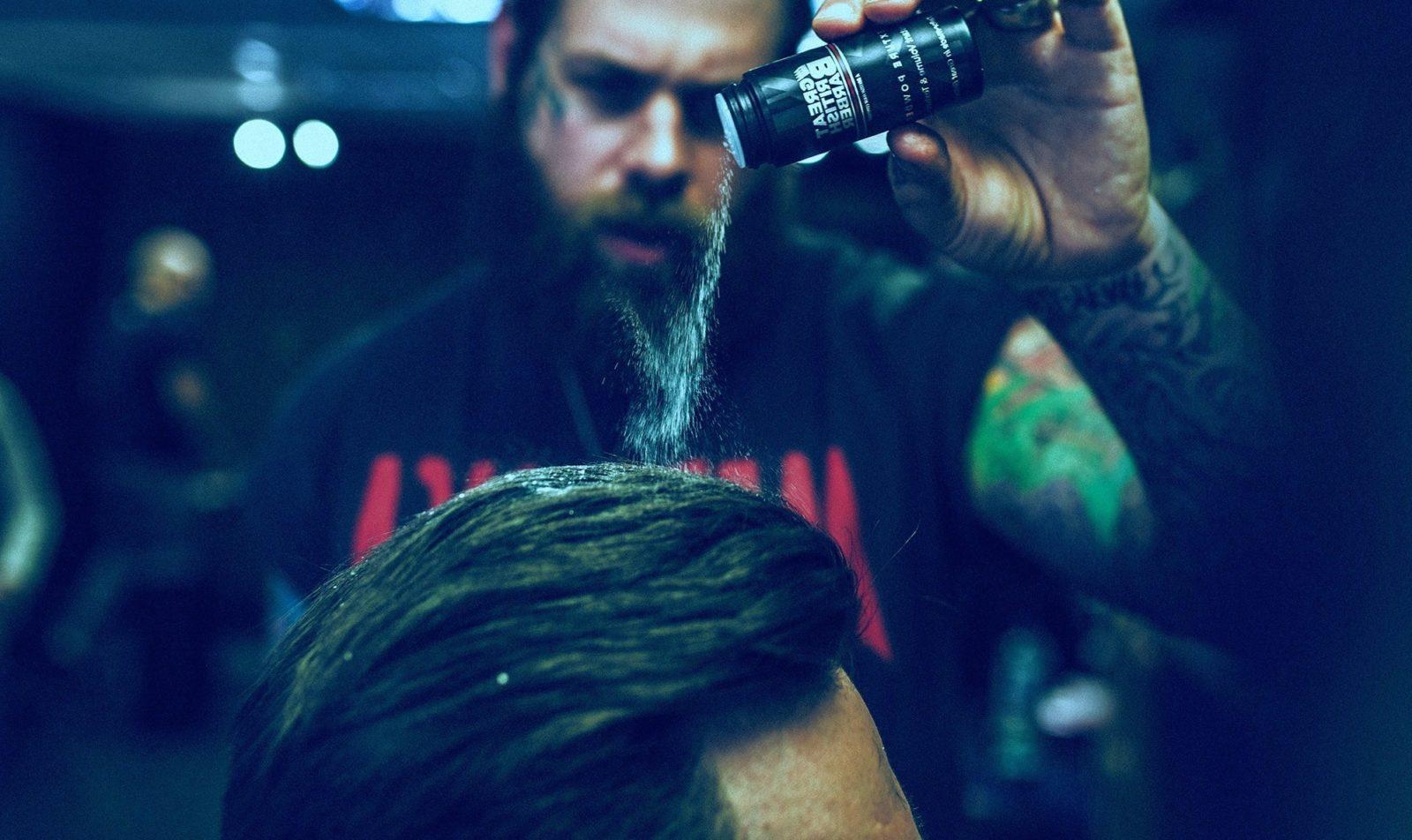 пудра волос для укладки мужская