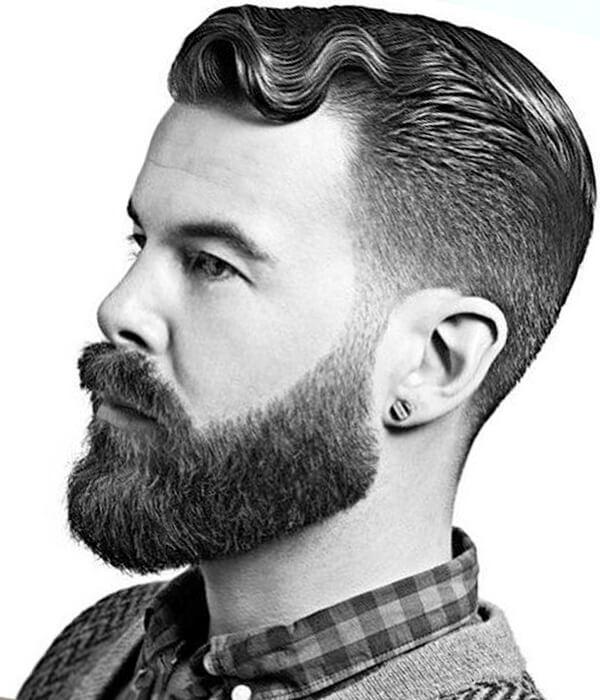 Полная борода (классическая, русская)