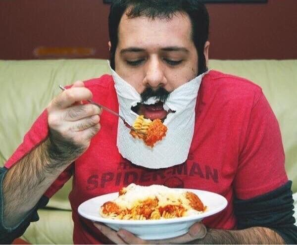 Еда и борода