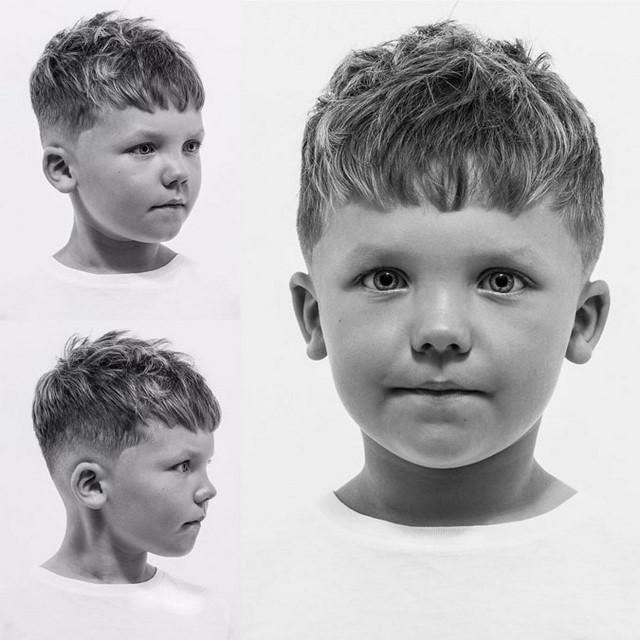 Стрижки для мальчиков: фото и видео