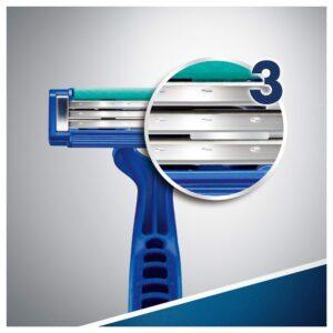 Gillette Blue Simple 3