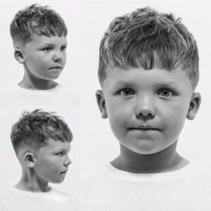 детская стрижка цезарь